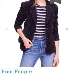 Free People corduroy blazer - size small